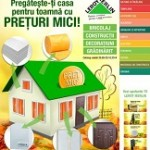 Catalog Leroy Merlin 26 septembrie – 20 octombrie 2014. Termosemineu Zvezda