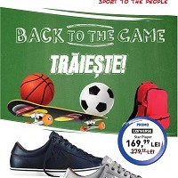 Intersport oferte 20 august – 19 septembrie 2015. Promotie Converse