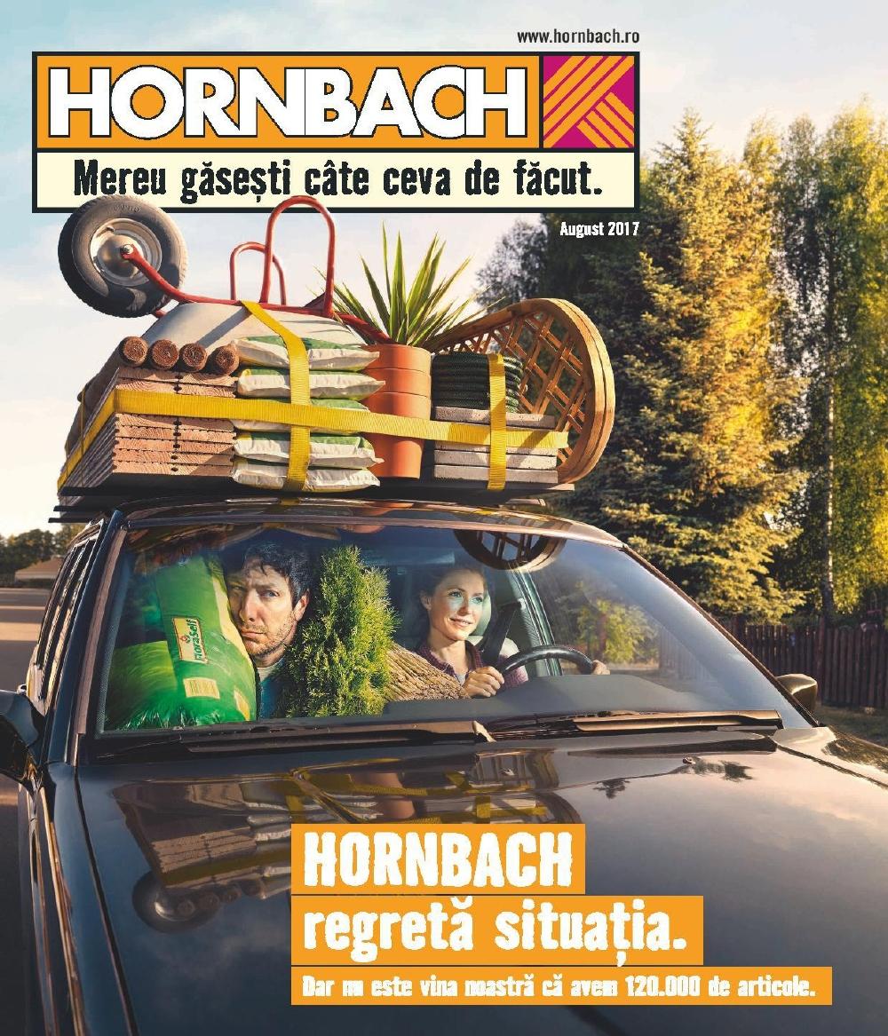 Catalog Hornbach 1 August - 31 august 2017