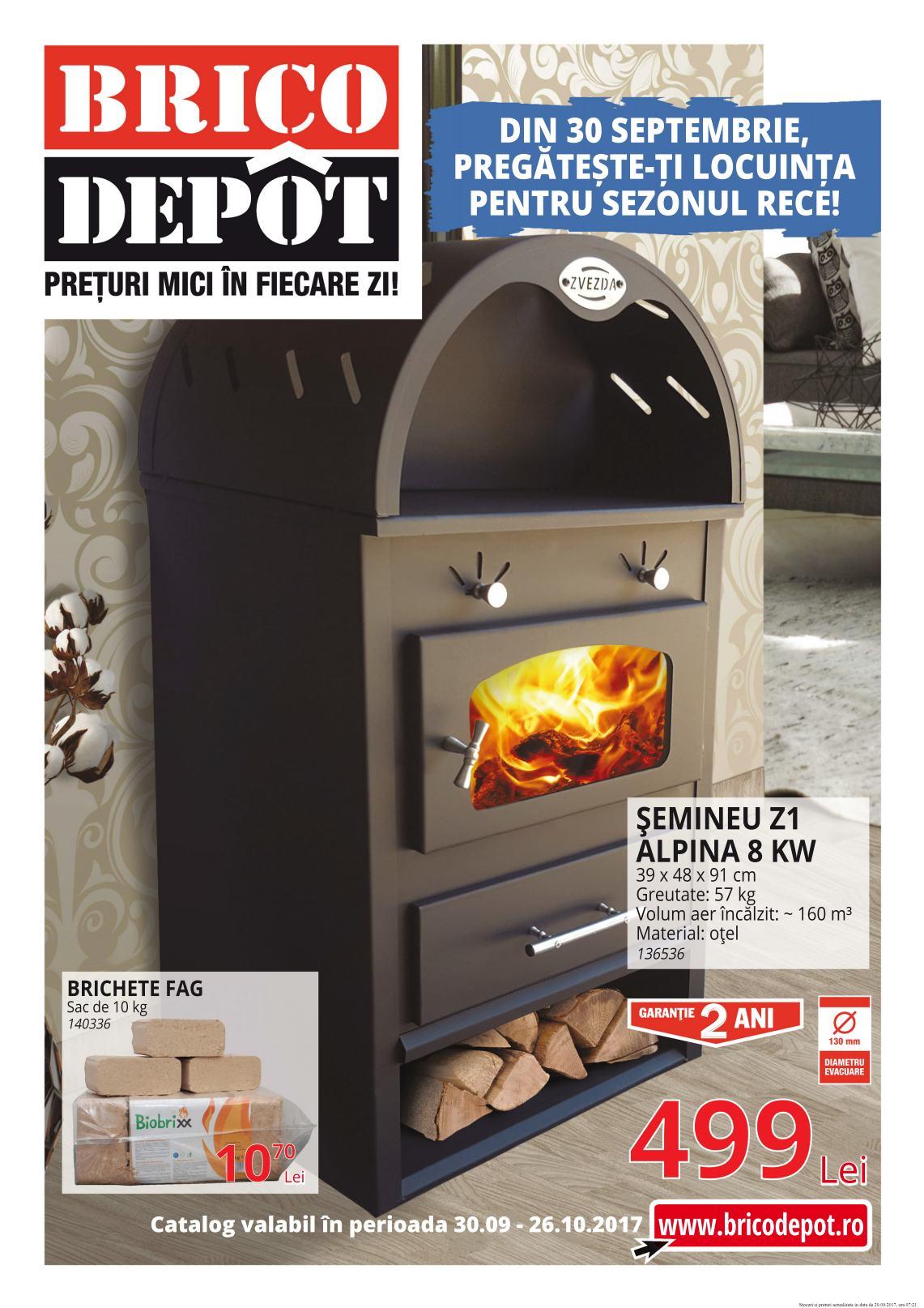 Catalog Brico Depôt 30 septembrie - 26 octombrie 2017