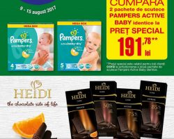 Catalog Cora 9 august – 15 august 2017. Produse alimentare