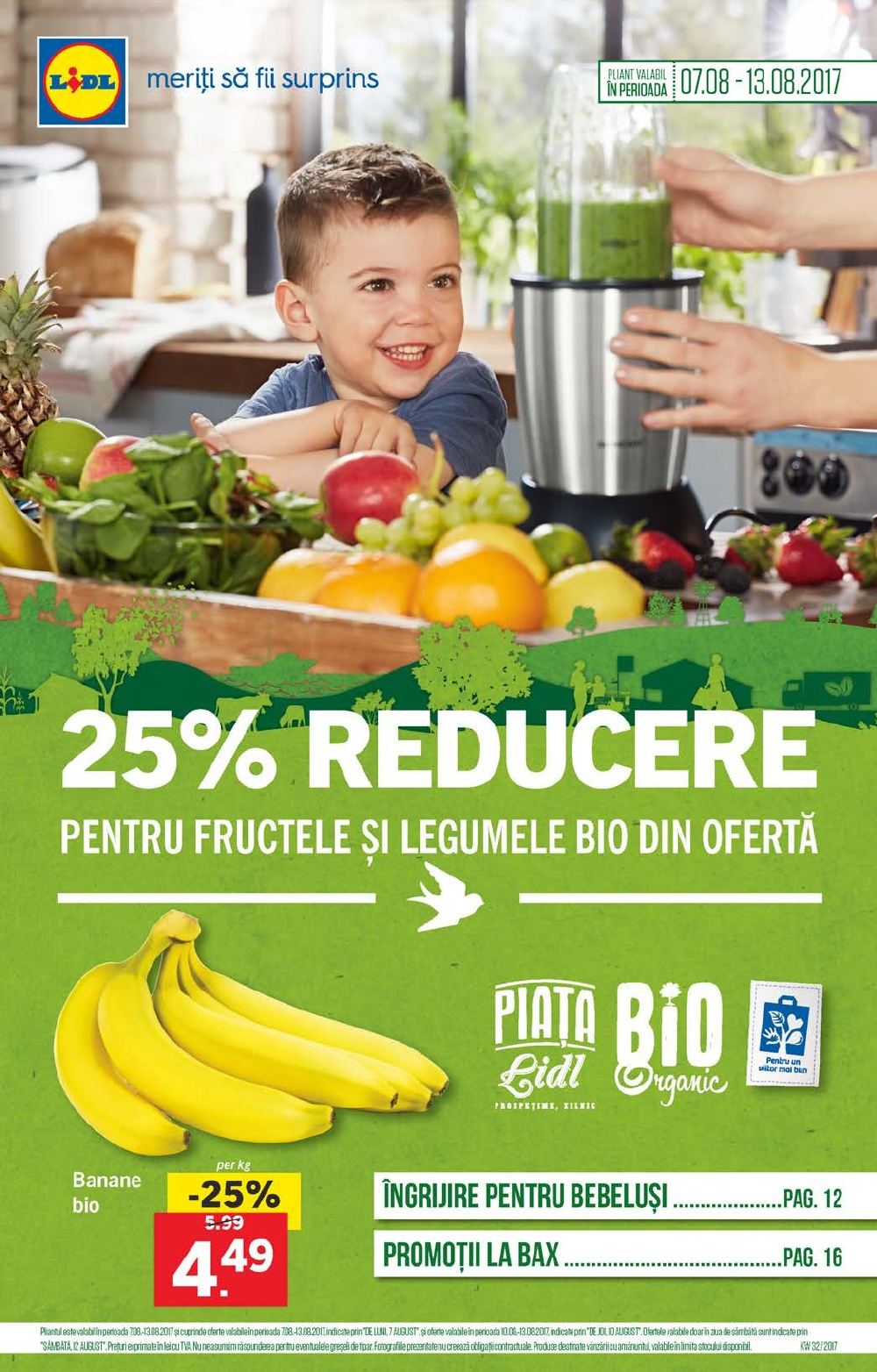 Catalog Lidl 7 August - 13 August 2017