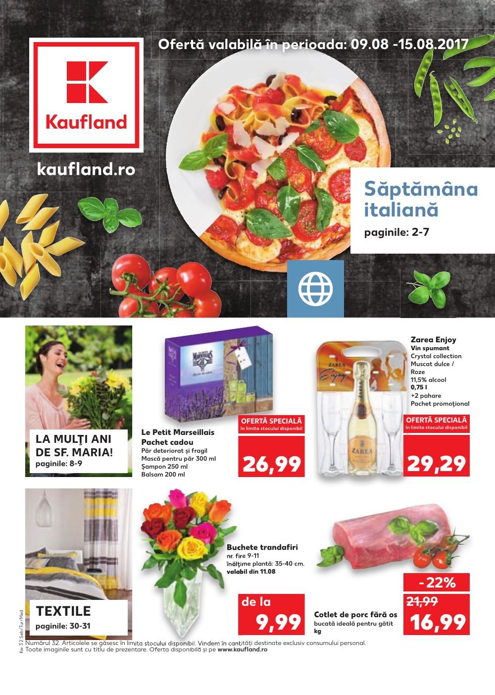 Catalog Kaufland 9 august - 15 august 2017