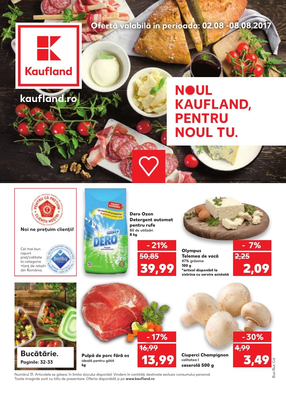 Catalog Kaufland 2 August - 8 August, 2017