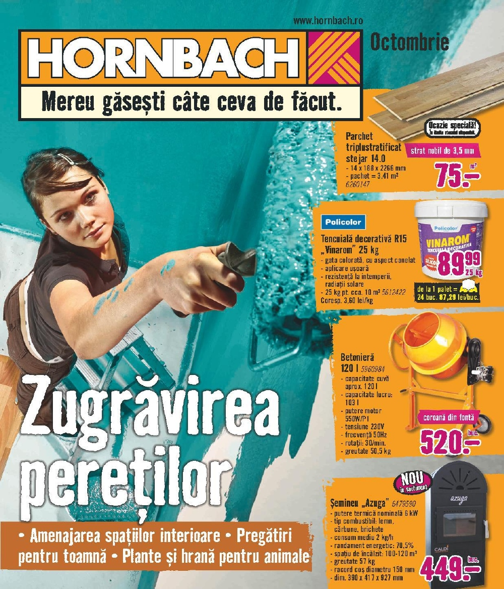 Catalog Hornbach 1 octombrie - 31 octombrie 2017