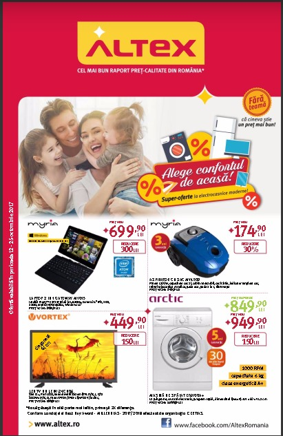 Catalog Altex 12 octombrie - 25 octombrie 2017