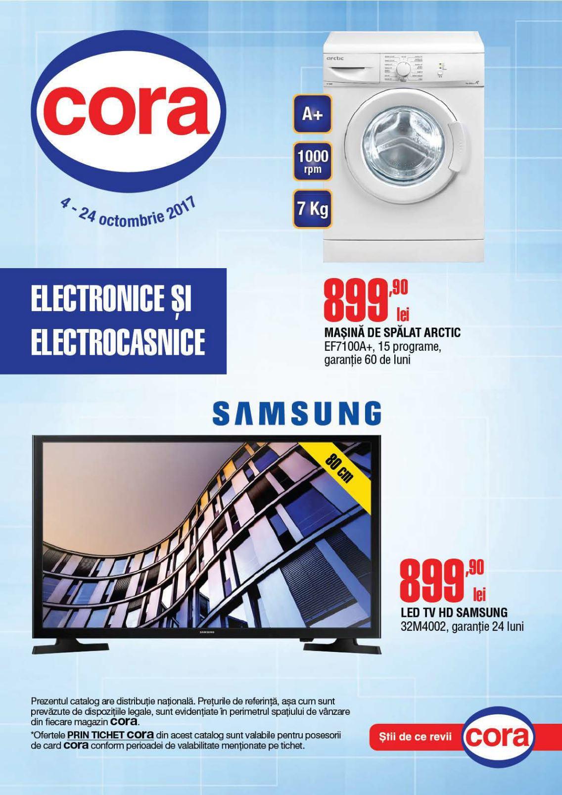 Catalog Cora oferte 4 Octombrie - 24 Octombrie 2017. Produse nealimentare