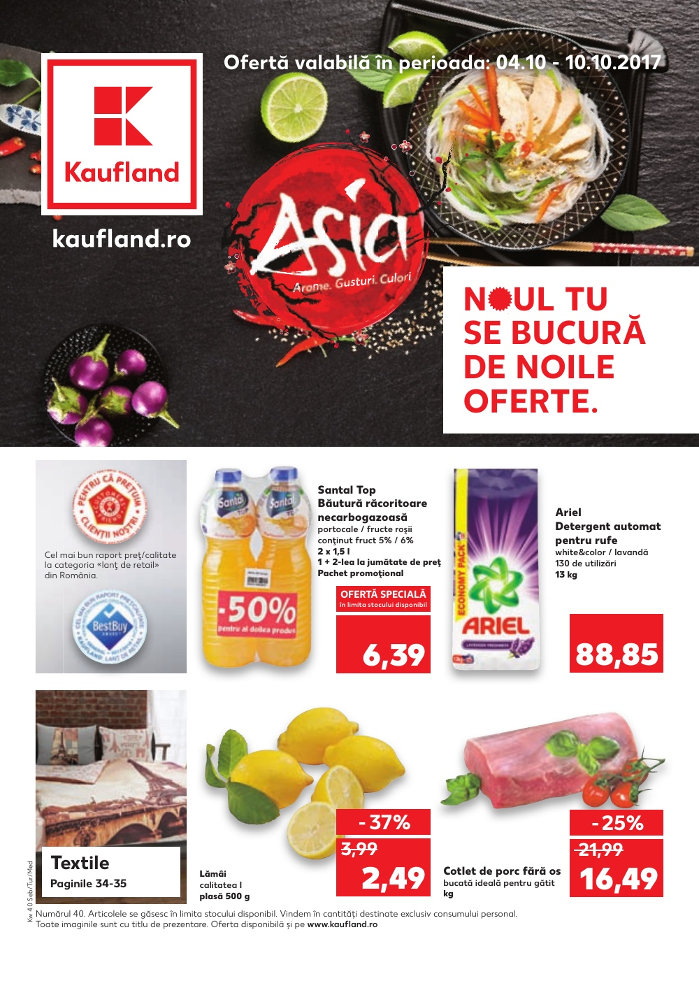Catalog Kaufland 4 octombrie - 10 octombrie 2017