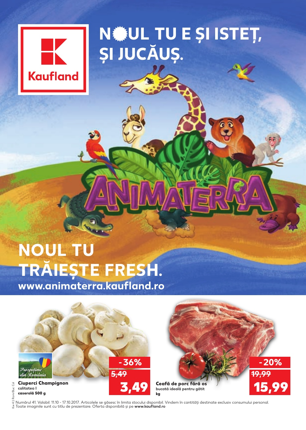 Catalog Kaufland 11 Octombrie - 17 Octombrie, 2017