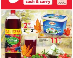 Catalog Selgros 13 octombrie – 26 octombrie 2017. Oferte alimentare