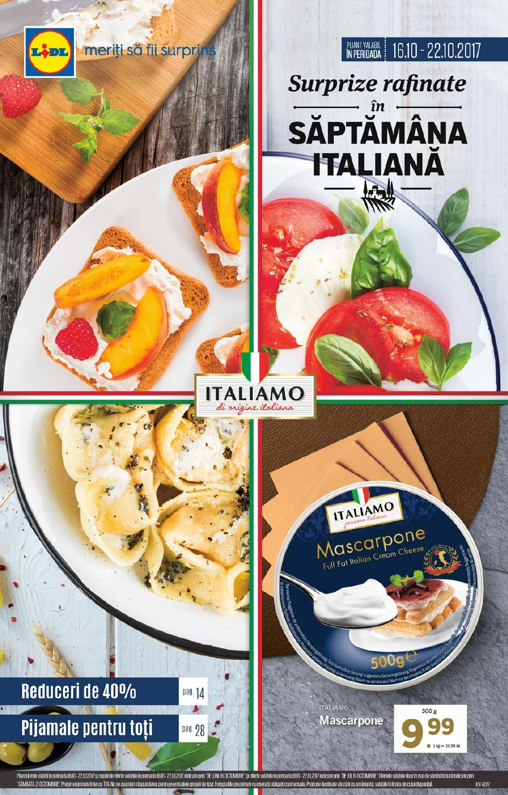 Catalog Lidl 16 Octombrie - 22 Octombrie 2017