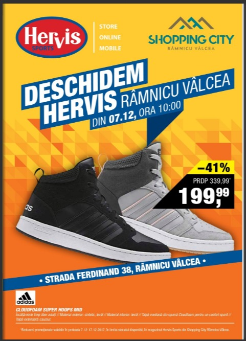 Catalog Hervis Sports 7 decembrie - 17 decembrie 2017