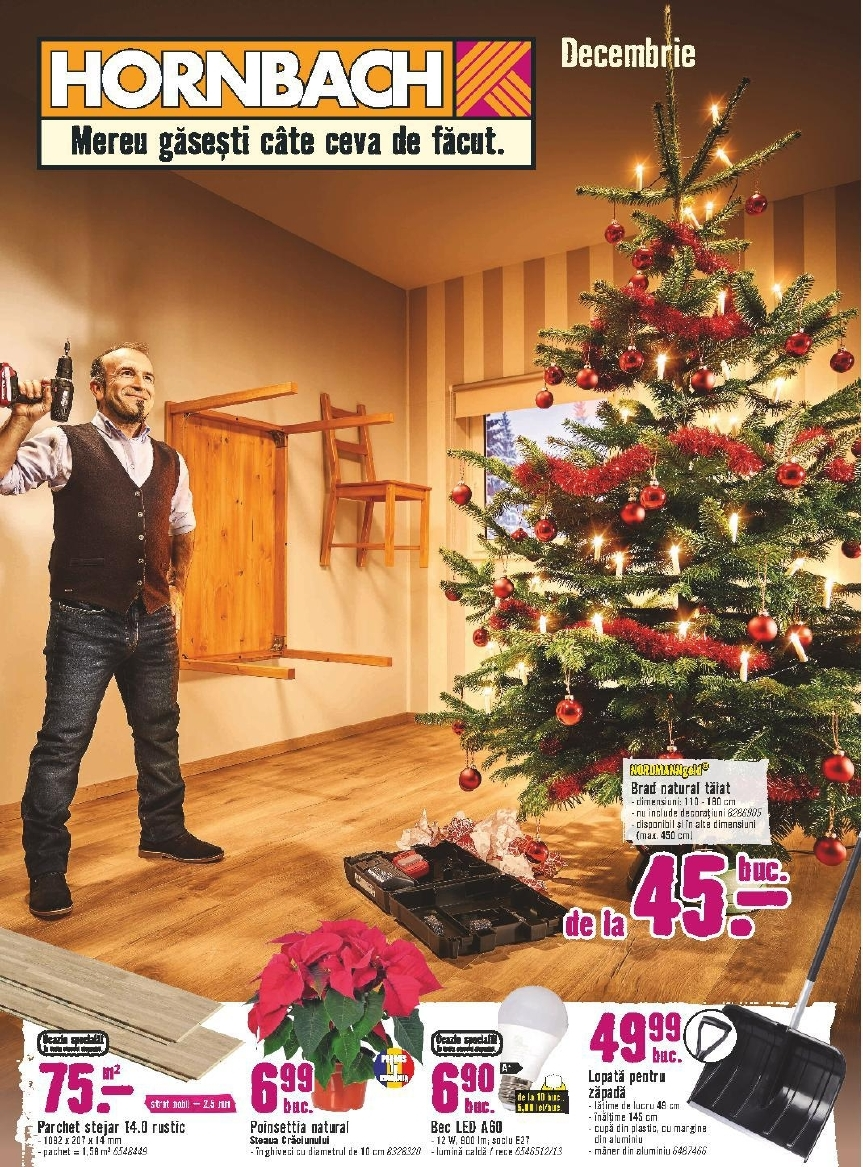 Catalog Hornbach 5 decembrie - 31 decembrie 2017
